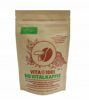 VITA1001 - Bio Vitalkaffee - Kaffee mit Herz & Idee