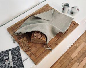 Vieböck Brotsack aus Leinen