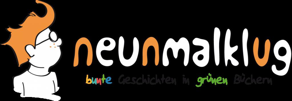 komplettes Logo neunmalklug verlag