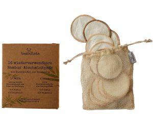 bambuista waschbare Abschminkpads
