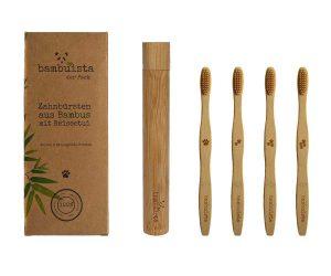 ökologische Zahnbürsten von bambuista